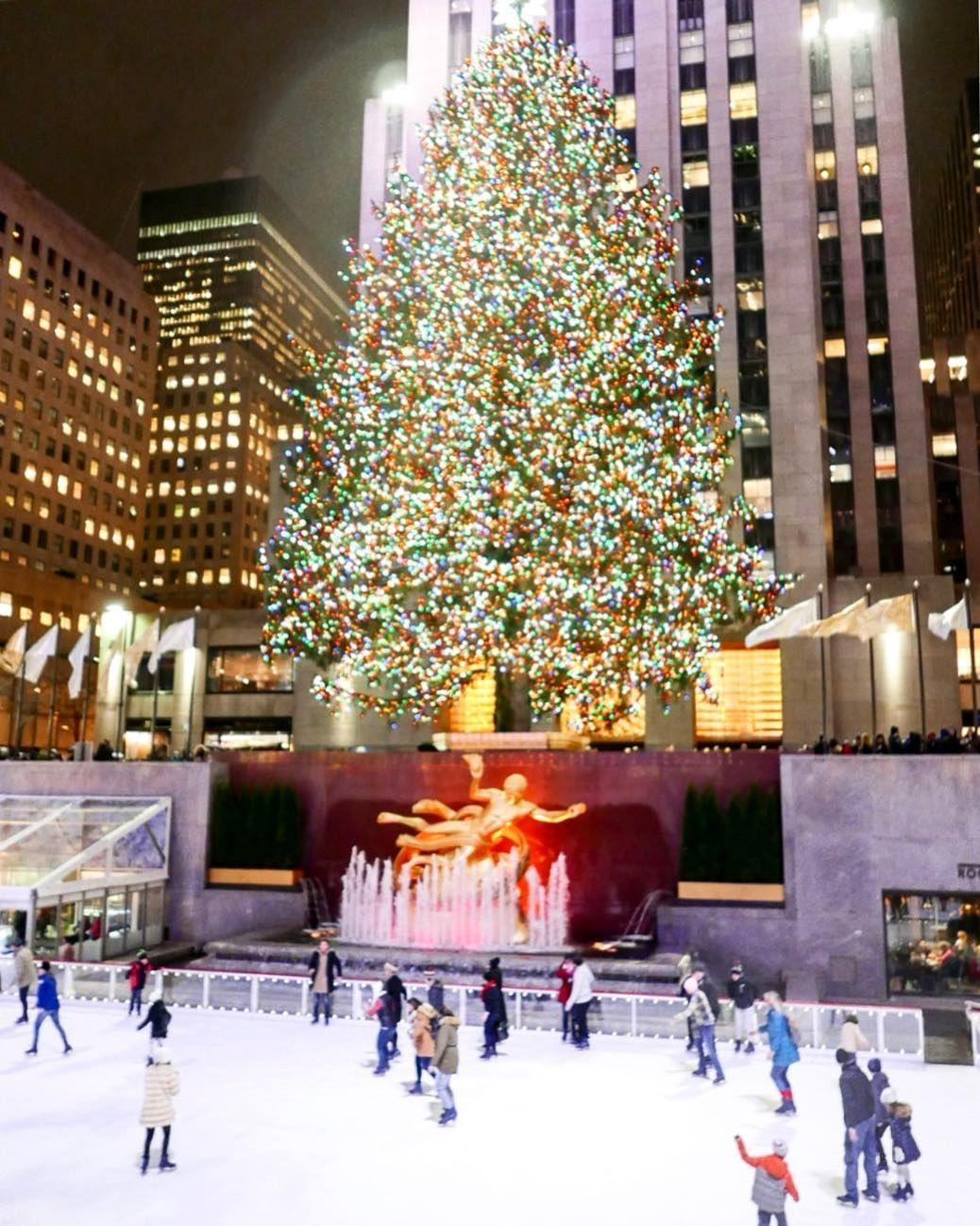 Rockefeller Christmas Tree 2018 Wallpapers - Wallpaper Cave