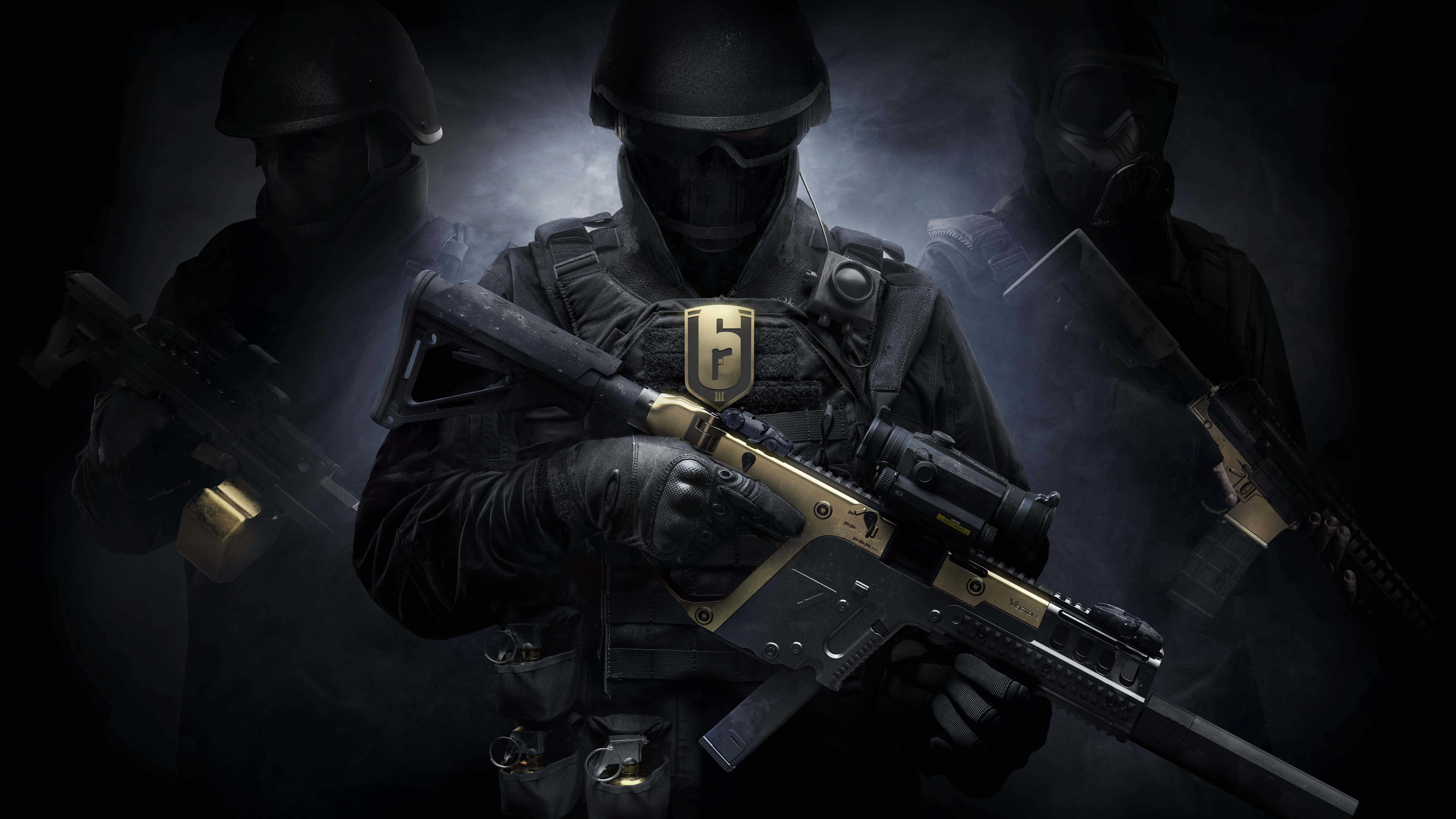 Tom Clancy's Rainbow Six Siege 4K Wallpapers