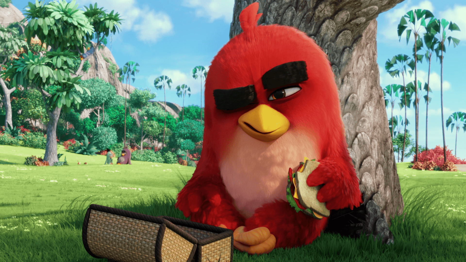 Angry Birds Movie Red Wallpapers - Wallpaper Cave