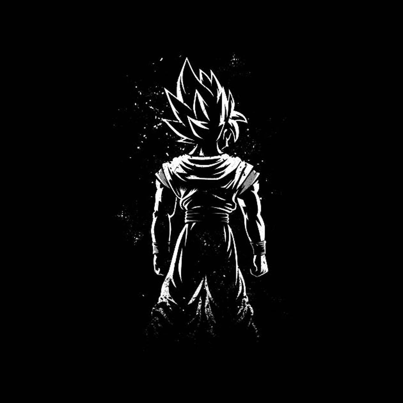 34 best free goku black and white wallpapers wallpaperaccess