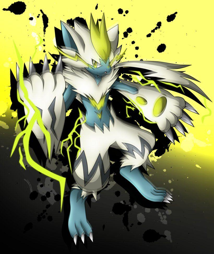 Shiny Zeraora Striker by jot202 on DeviantArt