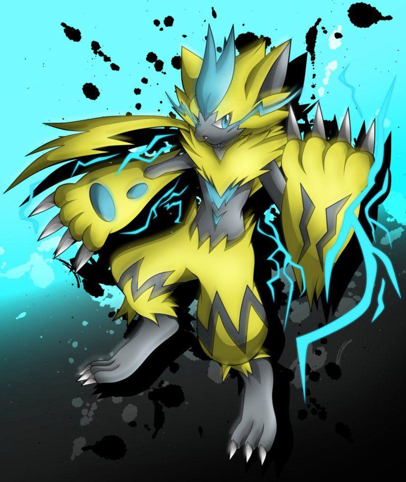 Zeraora Shocker by jot202 on DeviantArt