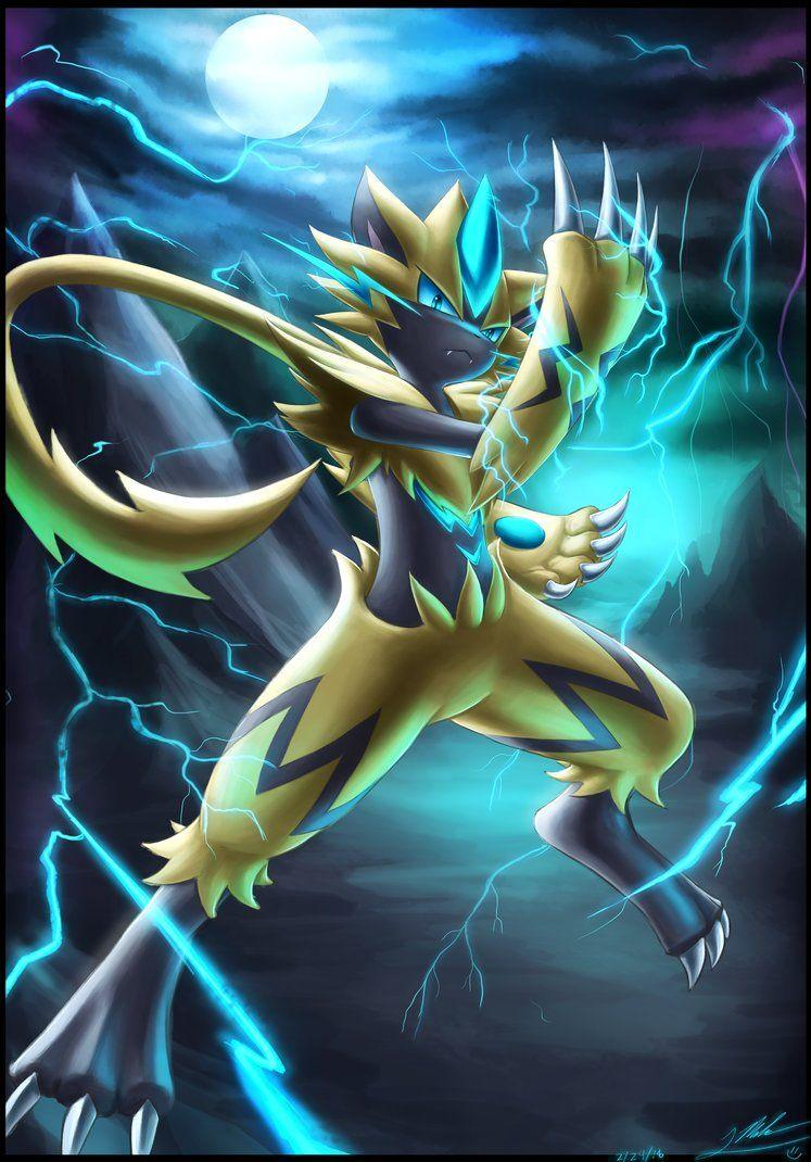Zeraora by ShupaMikey on DeviantArt