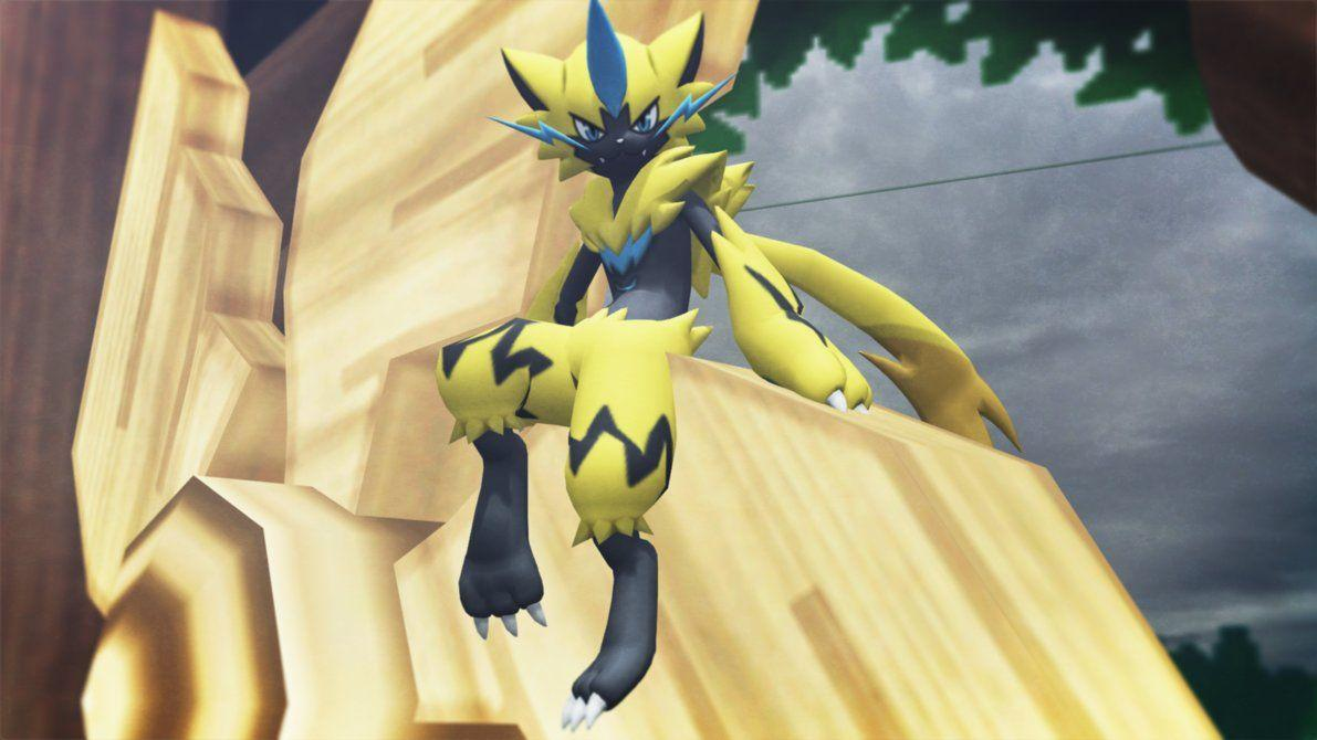 Zeraora (Pokemon U Sun and Moon) Now with Shiny by GuilTronPrime on ...