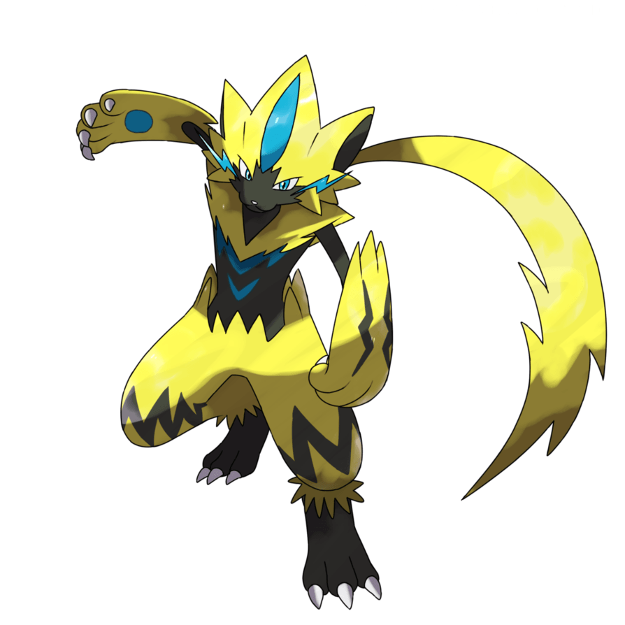 ZERAORA FANART by Trainerlouie on DeviantArt