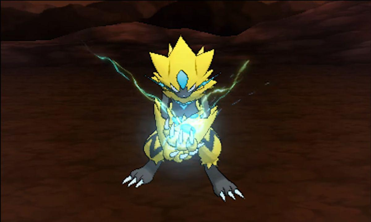 Mythical Pokémon Zeraora shows off its signature move