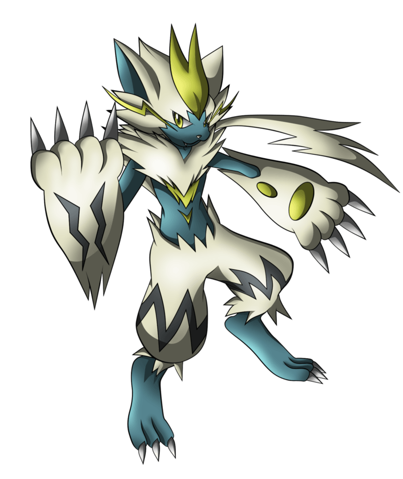 Shiny Zeraora non bg ver by jot202 on DeviantArt