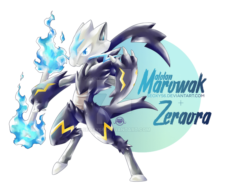 marowak Zeraora by Seoxys6 on DeviantArt