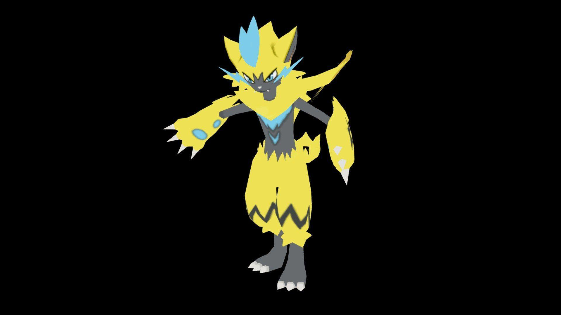 Zeraora (Ultra Sun/Moon) Pokemon - 3D model by Antyyy (@Antyyy ...