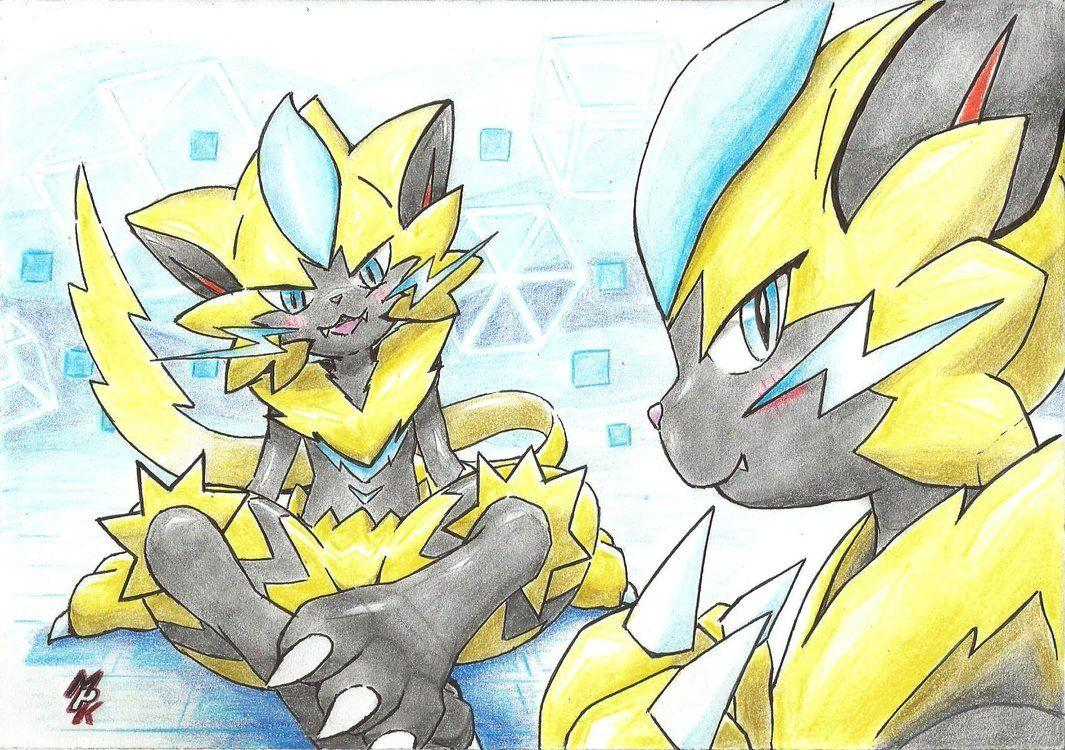 It's time for Zeraora by fullfolka on DeviantArt