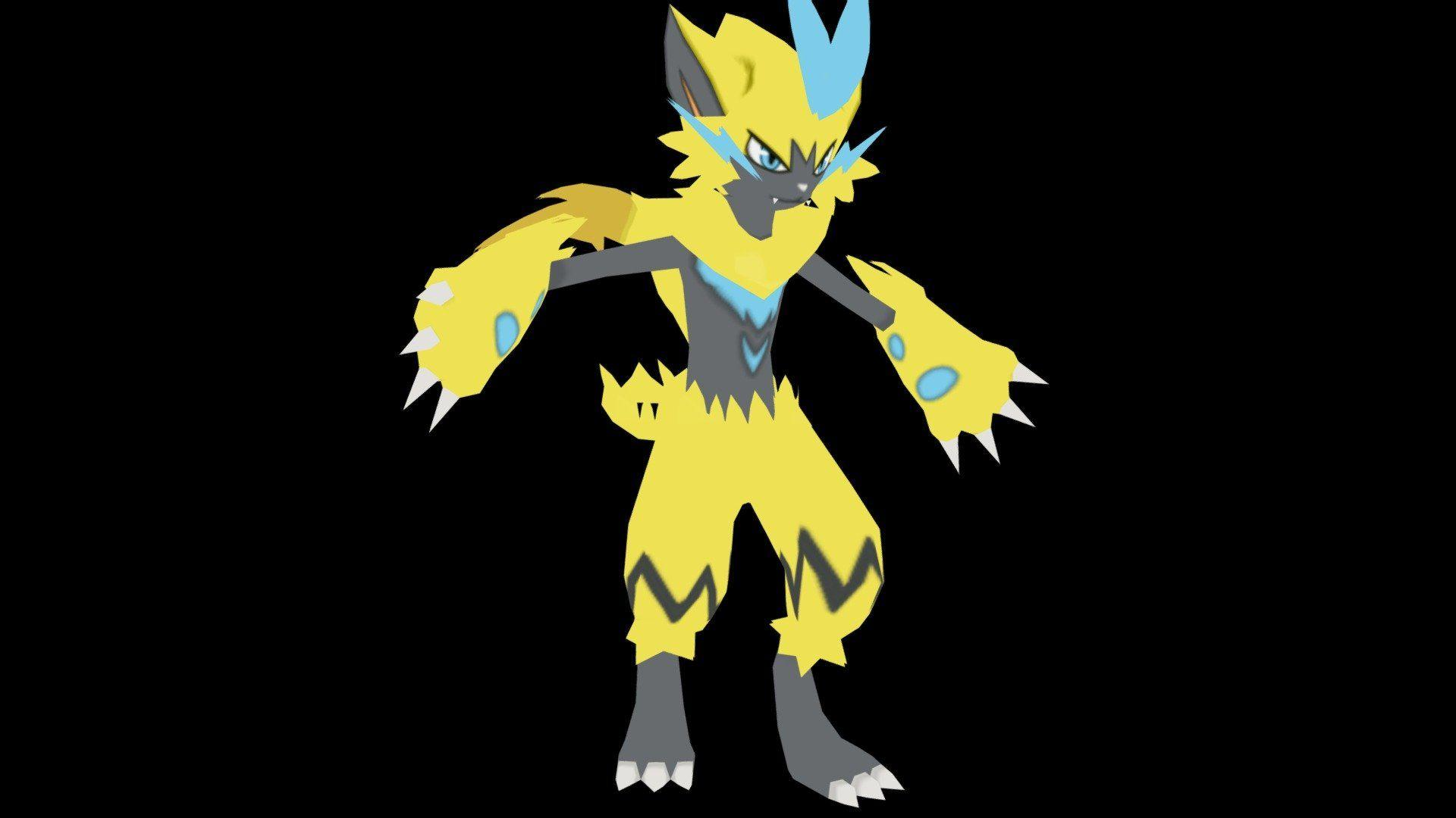 Zeraora (Legendary Pokemon) by anteja | My papercraft releases ...