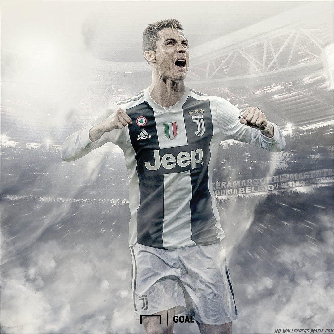 Cristiano Ronaldo Celebration Wallpaper Juventus
