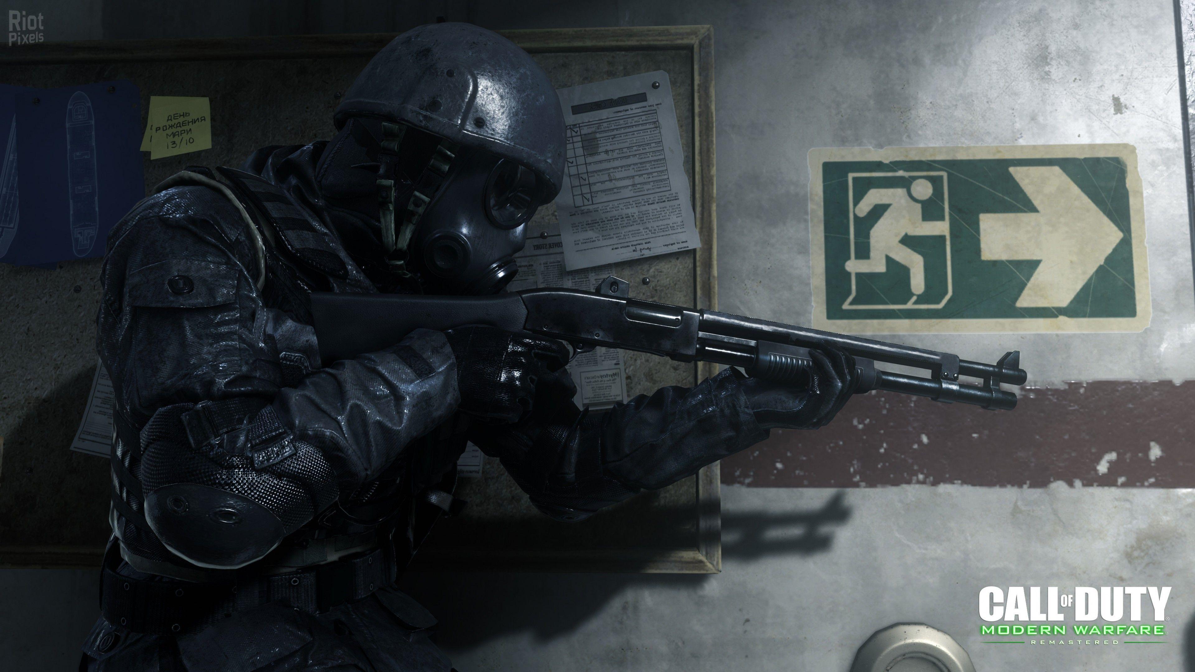 Call Of Duty 4 Modern Warfare Wallpapers Wallpaper Cave