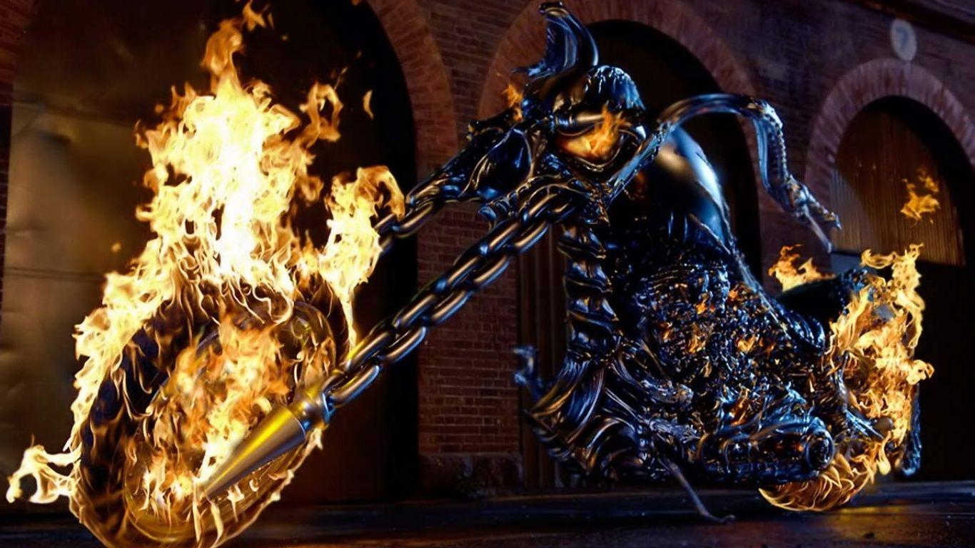 Fire bike wallpapers and image