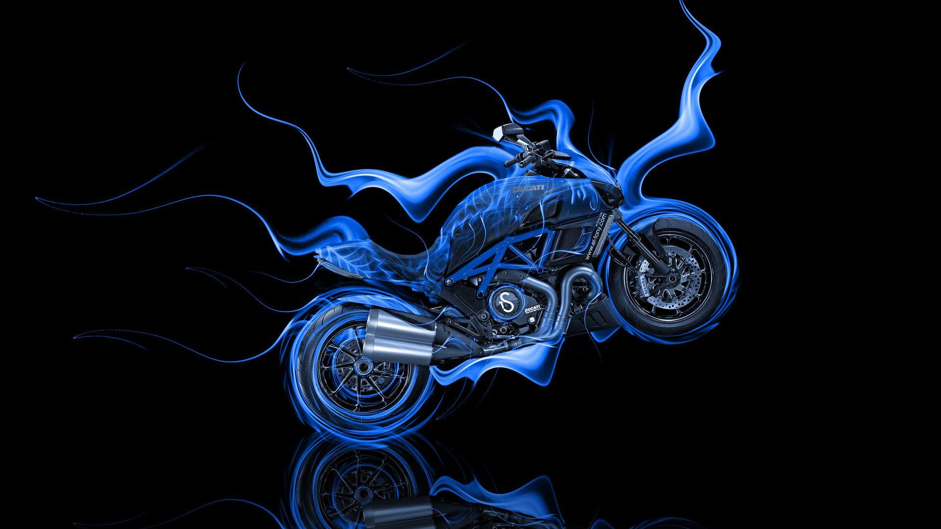 Abstract Bike Wallpapers Hd