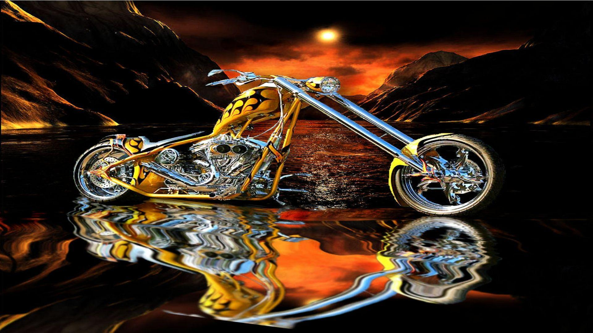 Free HD Choppers wallpapers, West Cost Choppers theme bikes, Amazing