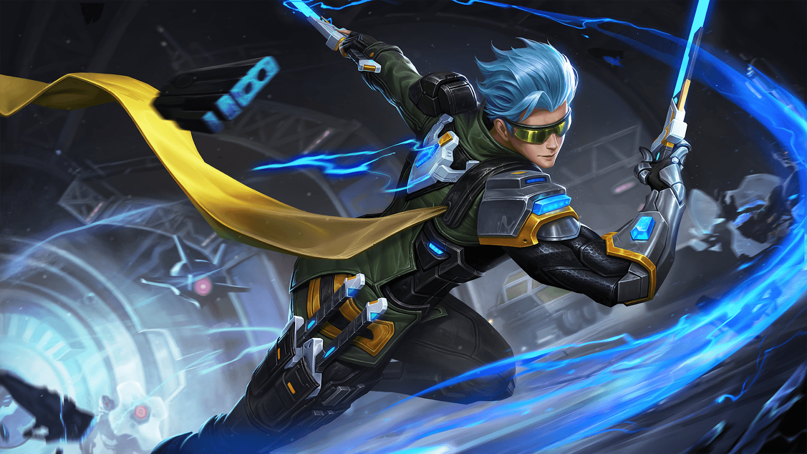 High Quality Image   Cyber Ops Wall.png | Mobile Legends Wiki | FANDOM Powered By .
