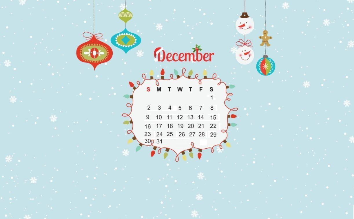 December 2018 Calendar Wallpapers - Wallpaper Cave