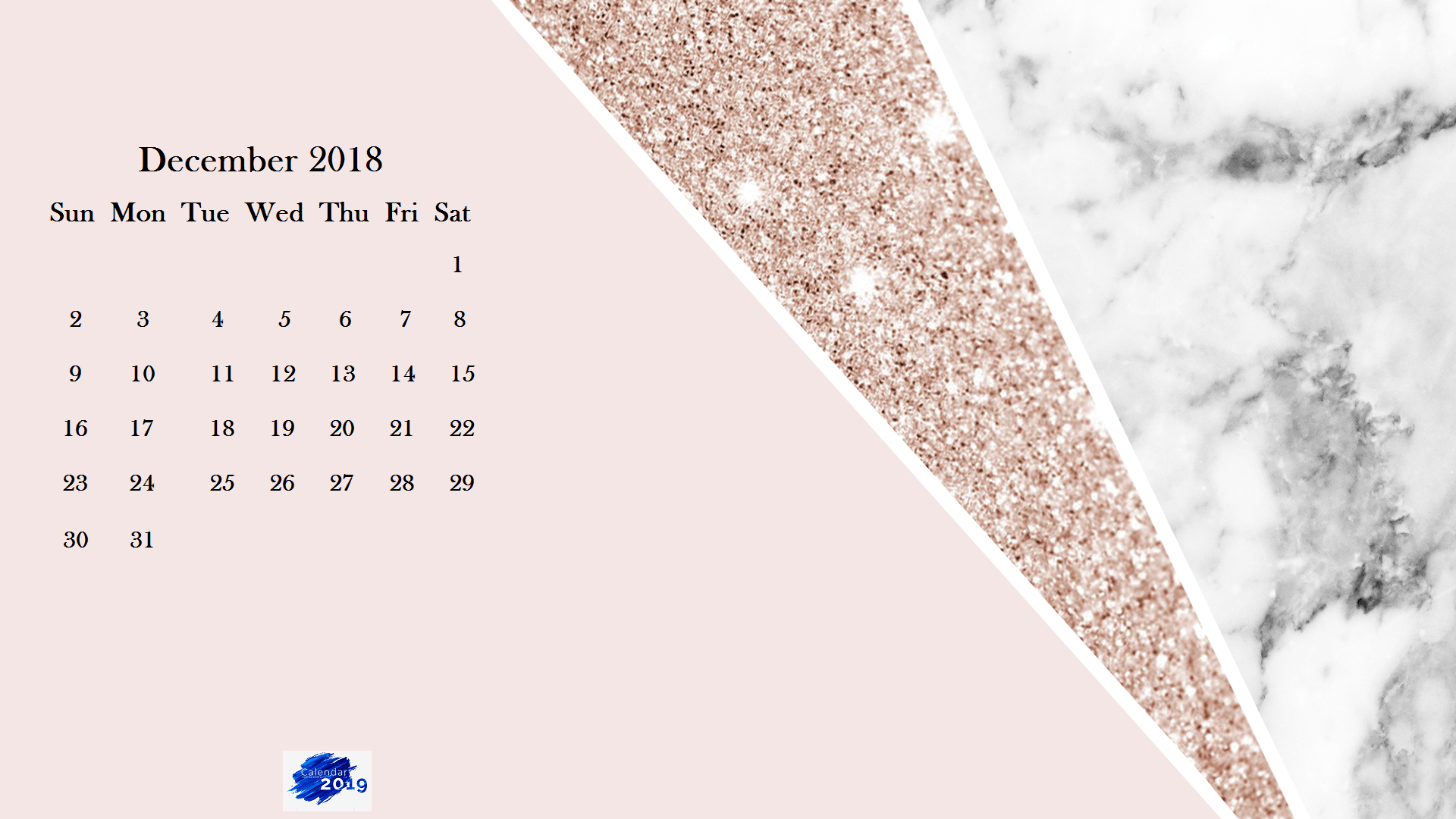 December 2019 Calendar Wallpaper Desktop December 2018 Calendar Wallpapers   Wallpaper Cave