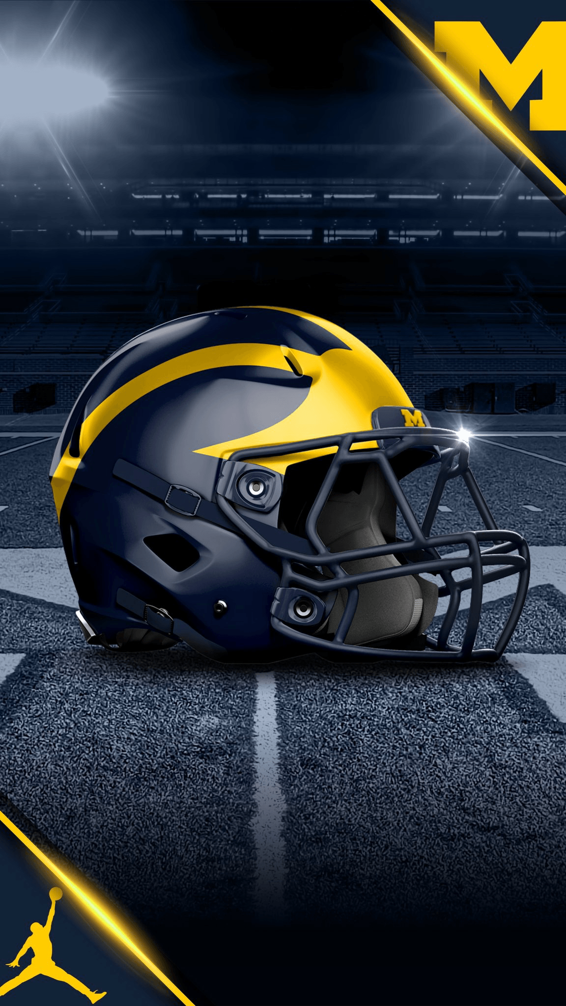 Michigan wolverines football wallpapers wallpaper cave - Michigan state football backgrounds ...