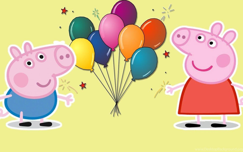 Свинка пеппа открытки с днем рождения, про победу