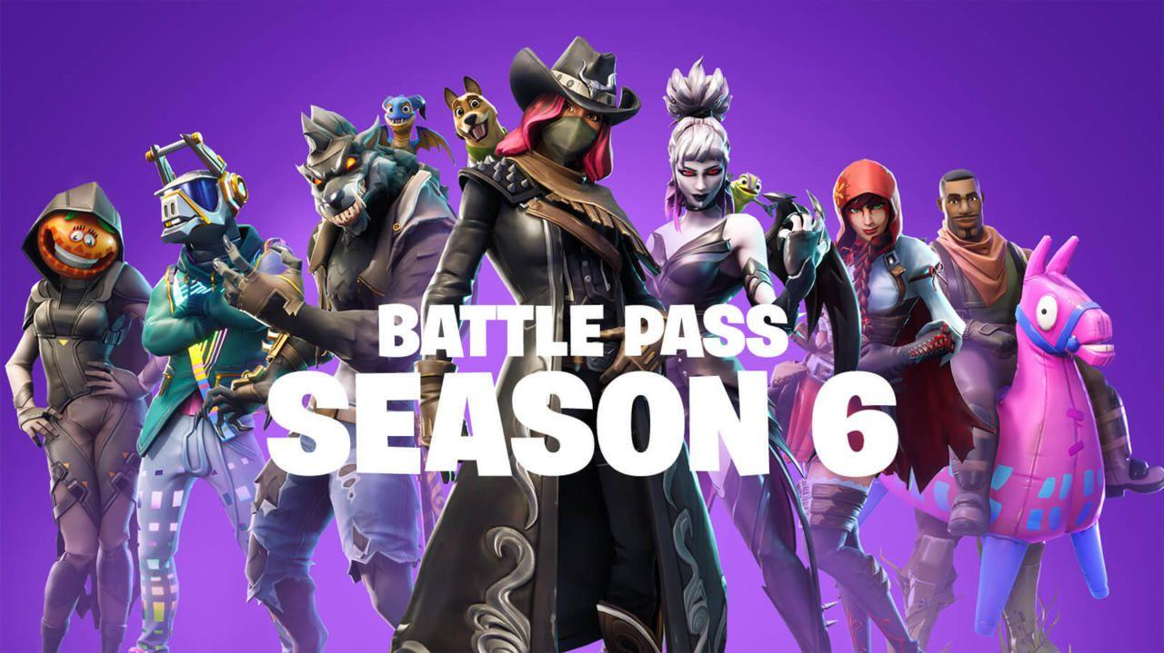 See Fortnite Season 6's New Skins, Sprays, Emotes, And Battle Pass