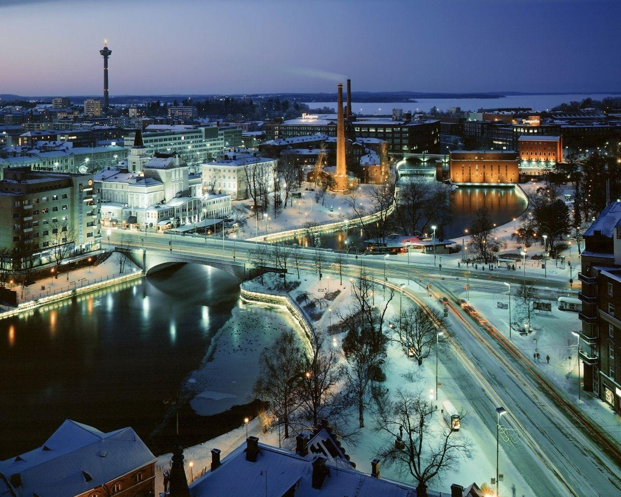 Download 1280x1024 Wallpapers Trade, Helsinki, Tampere, Kajaani