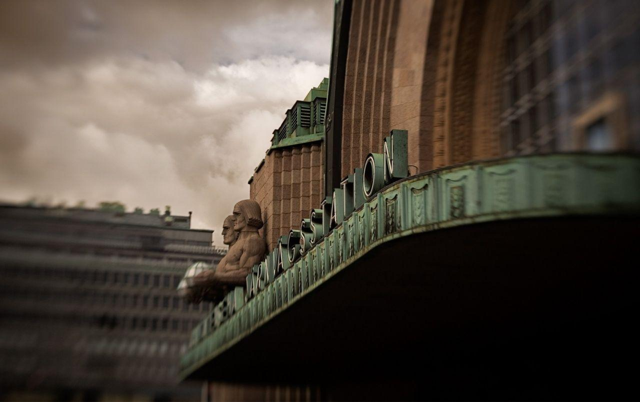 Helsinki Central Railway Station Finland wallpapers