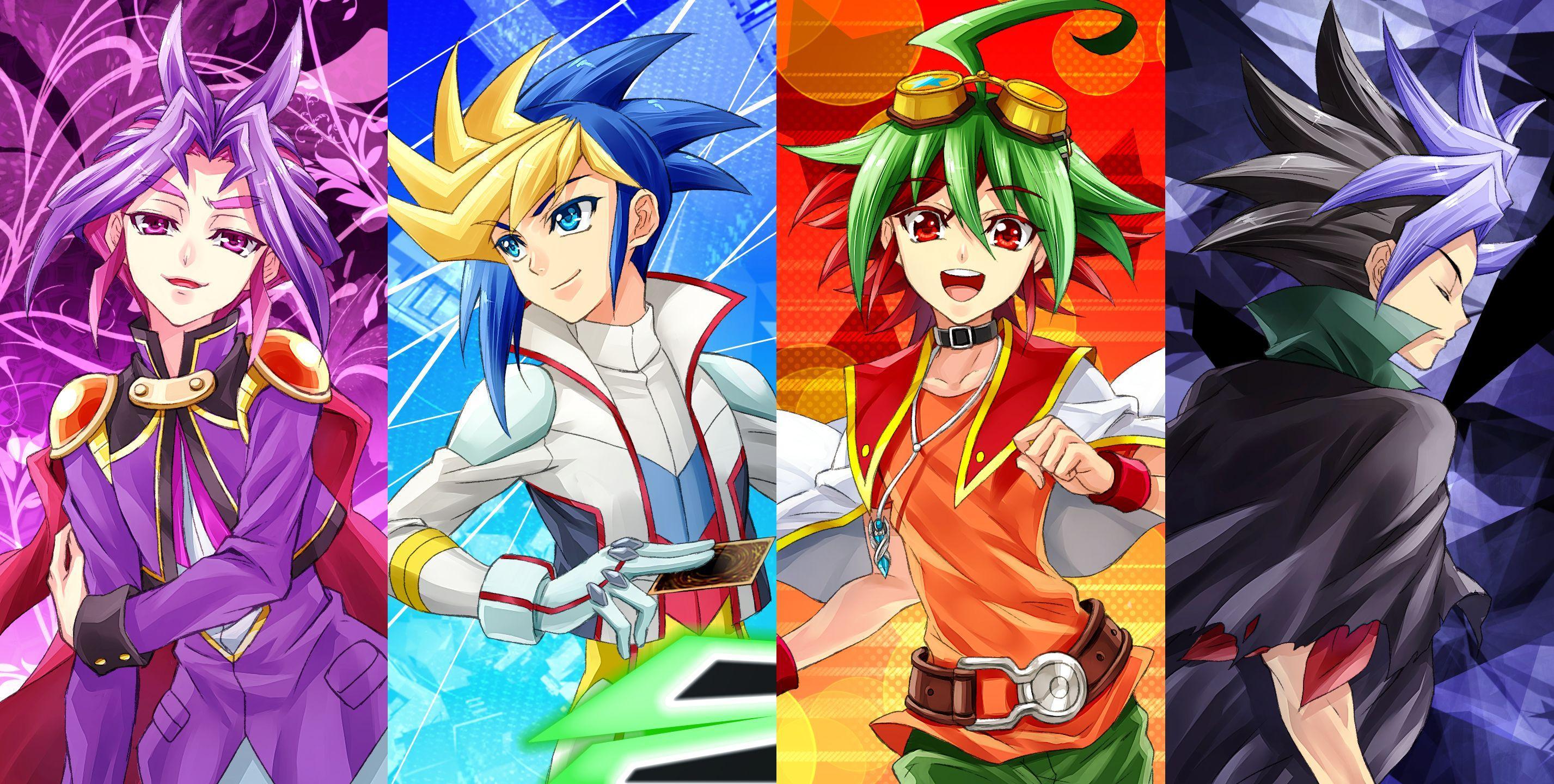 Yu-Gi-Oh! Arc-V to Stream on Kartoon Channel   YuGiOh! World