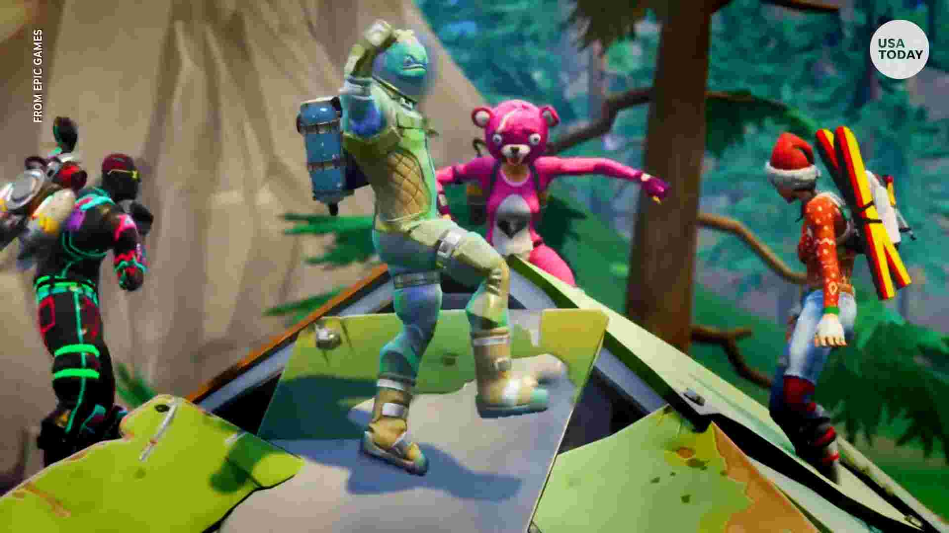 Fortnite Dances Wallpapers Wallpaper Cave