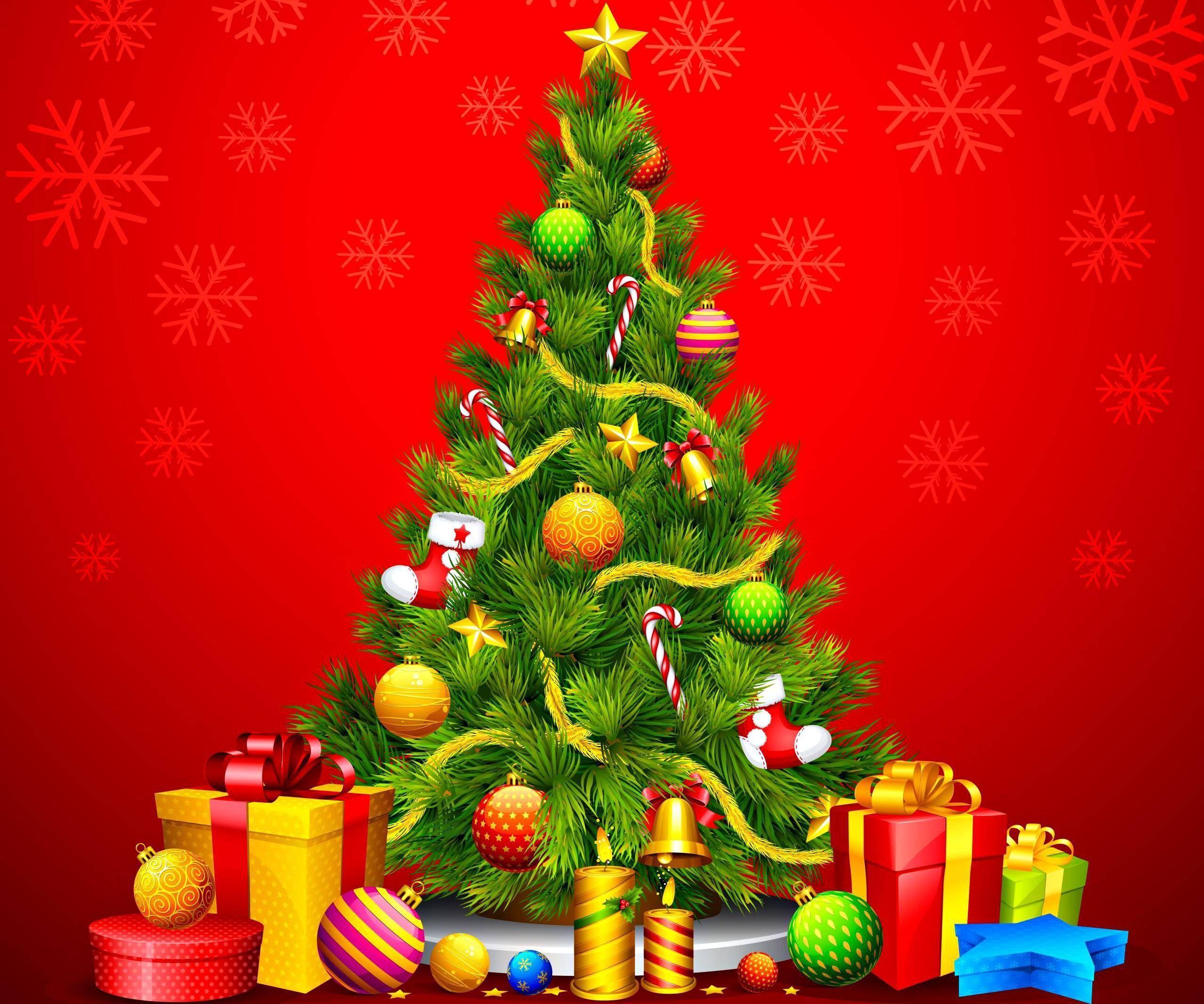 Днем, открытки с новогодними елочками