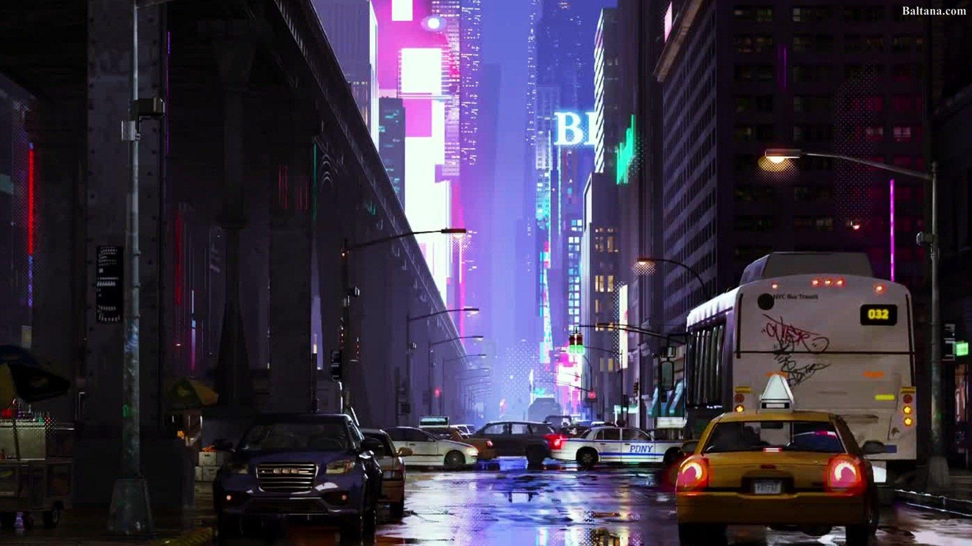 Spiderman into the spiderverse wallpapers wallpaper cave - Moving spider desktop ...