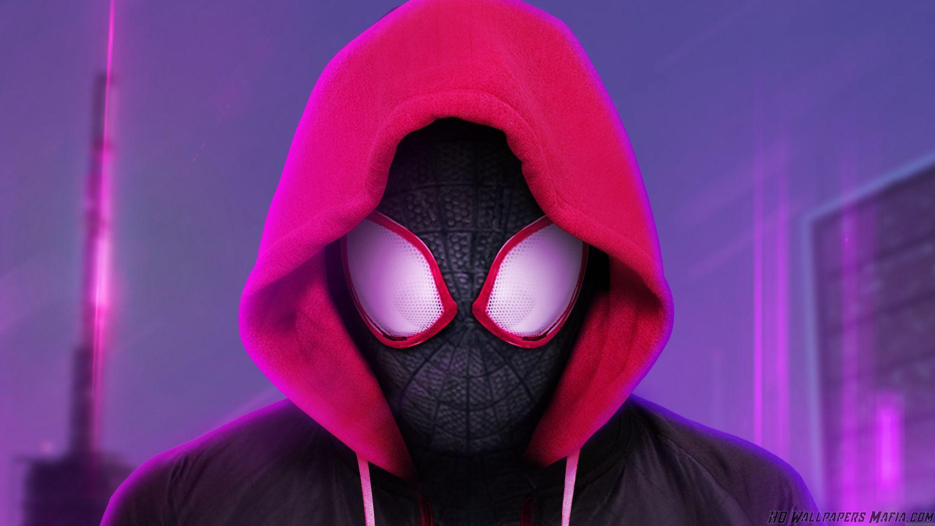 Miles Morales Spider Man Into the Spider Verse Wallpapers