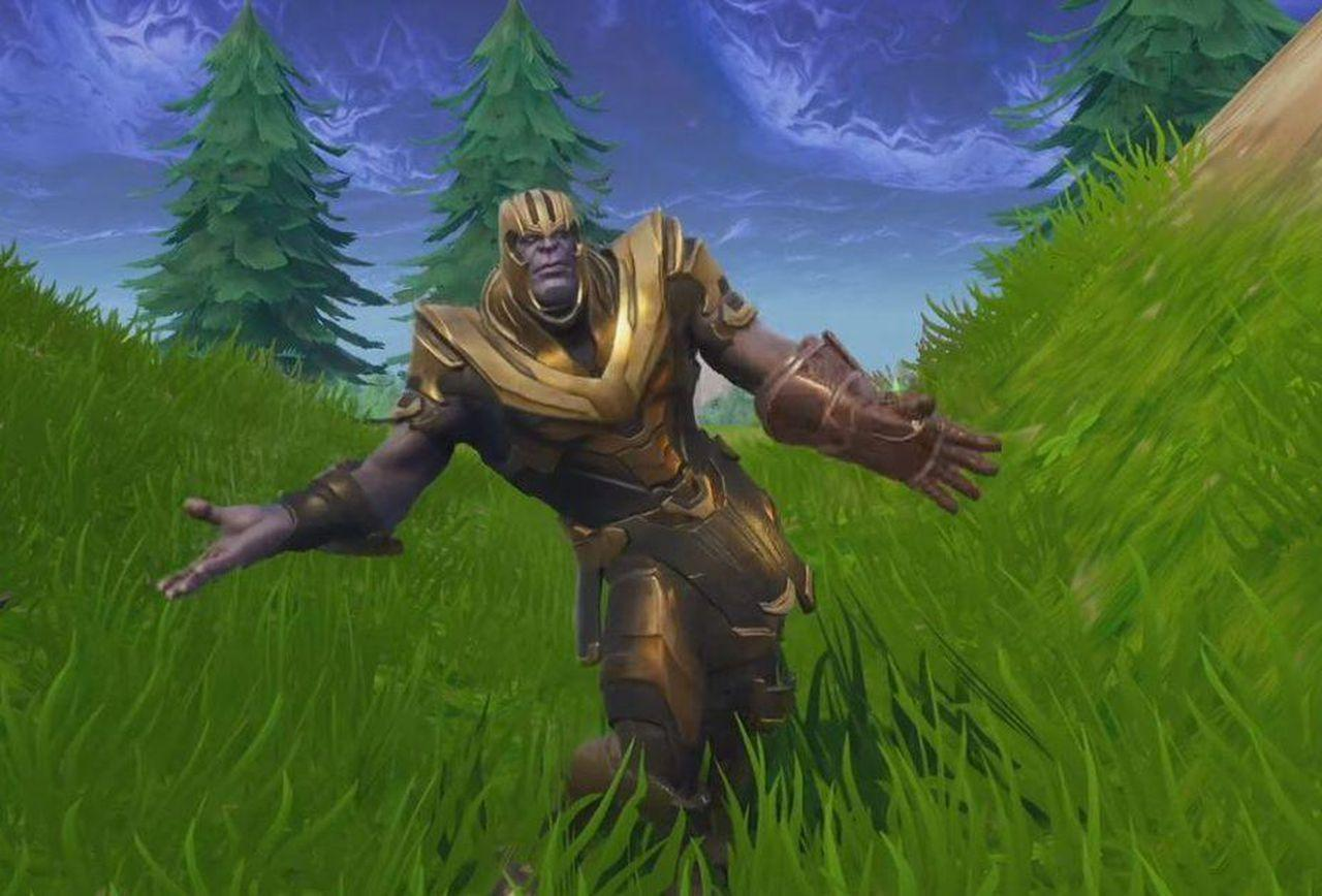 Let's Watch Thanos Do Some Dance Emotes In 'Fortnite: Battle Royale'