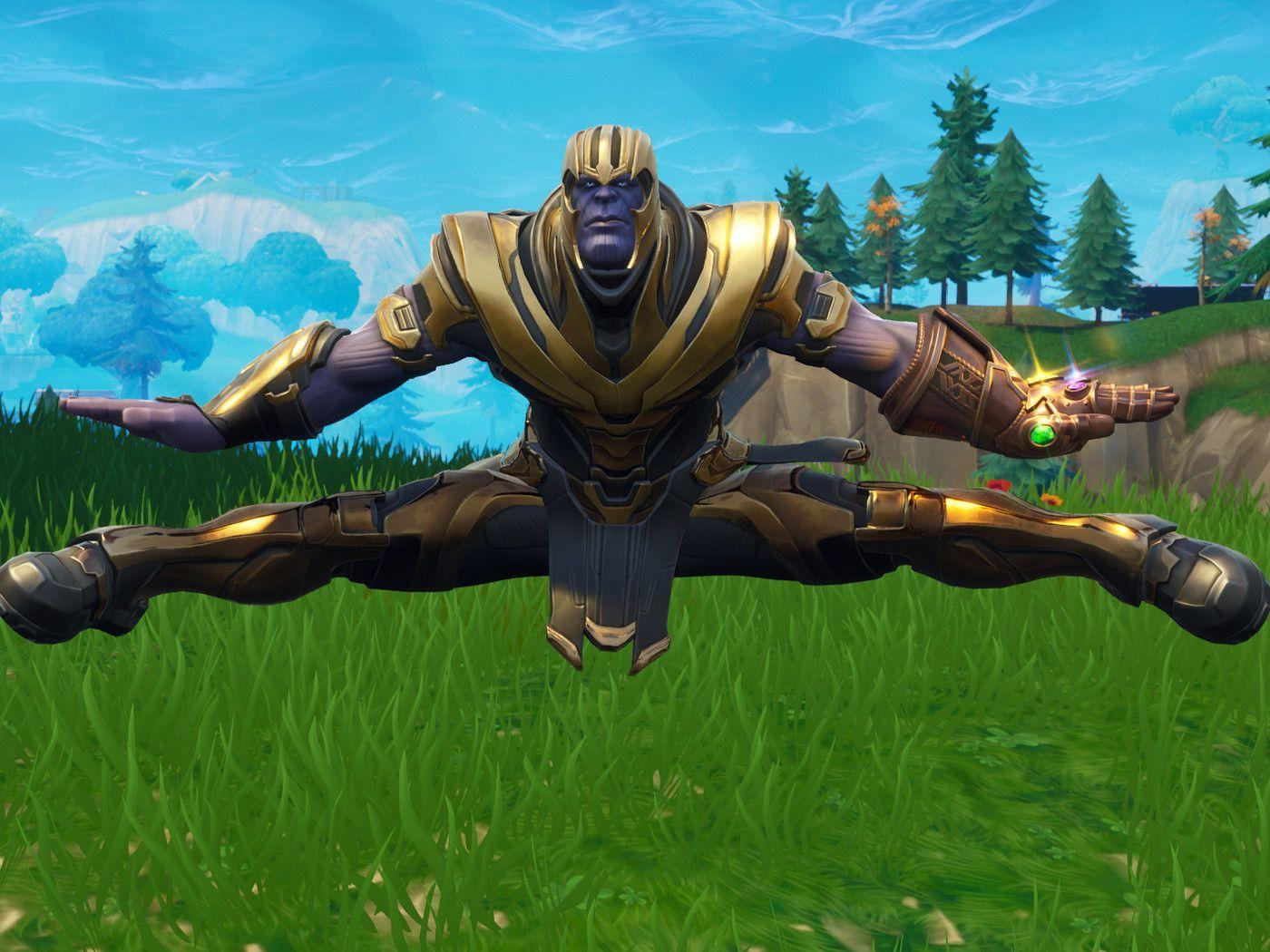Play as a Dancing Thanos In Fortnite