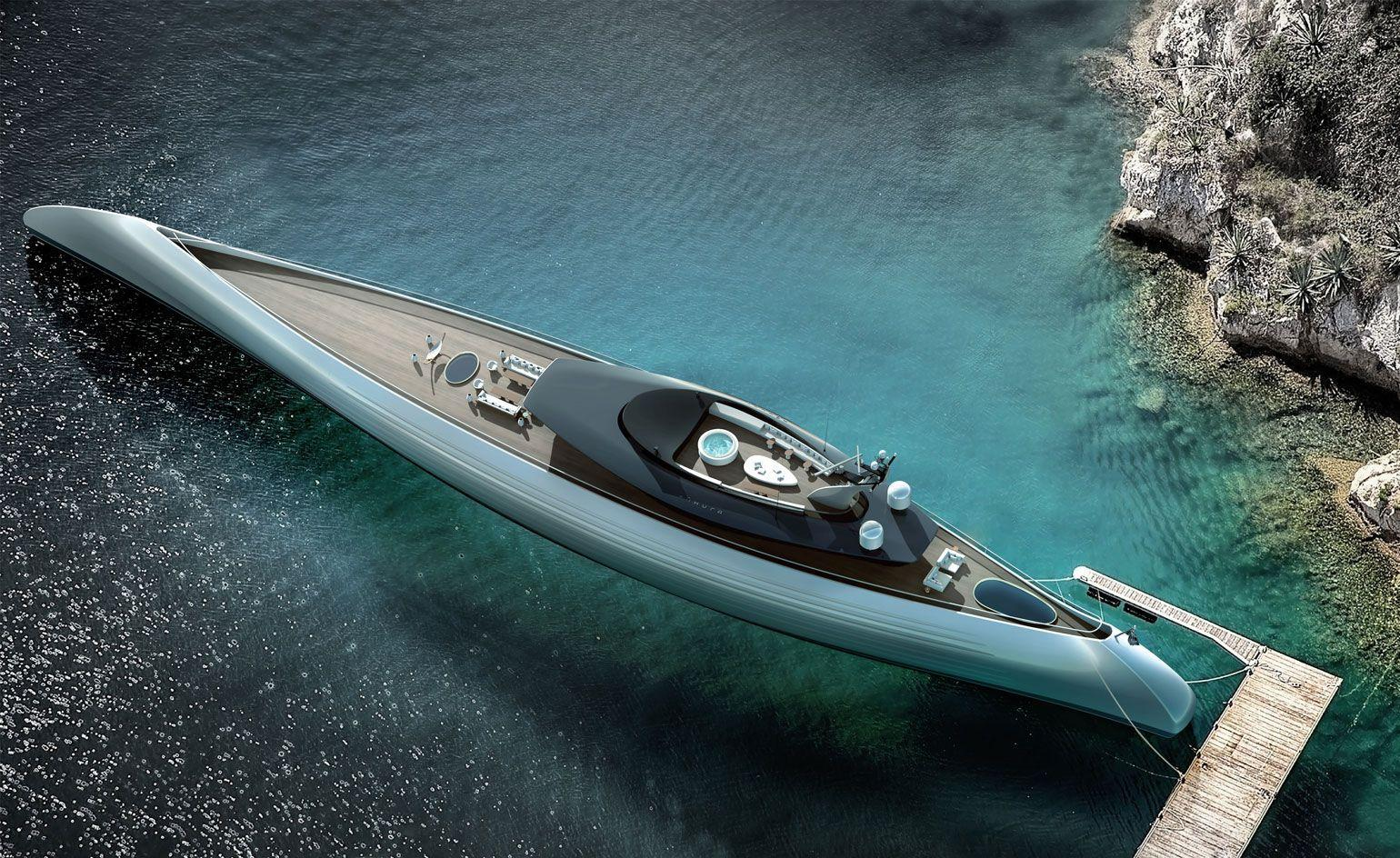 Dream boats: outrageously designed yacht concepts of 2018