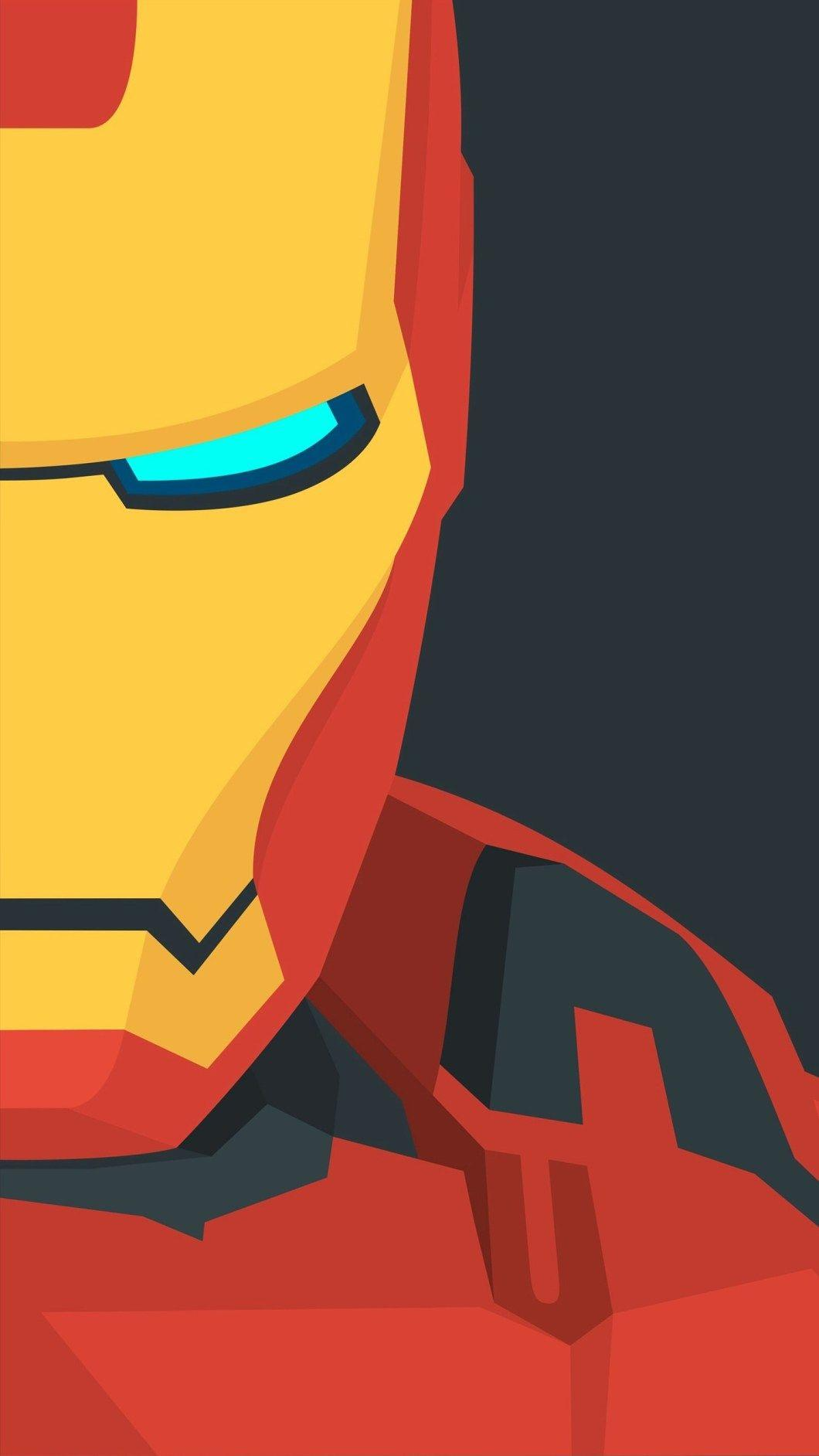 Iron Man Iphone Wallpapers Wallpaper Cave