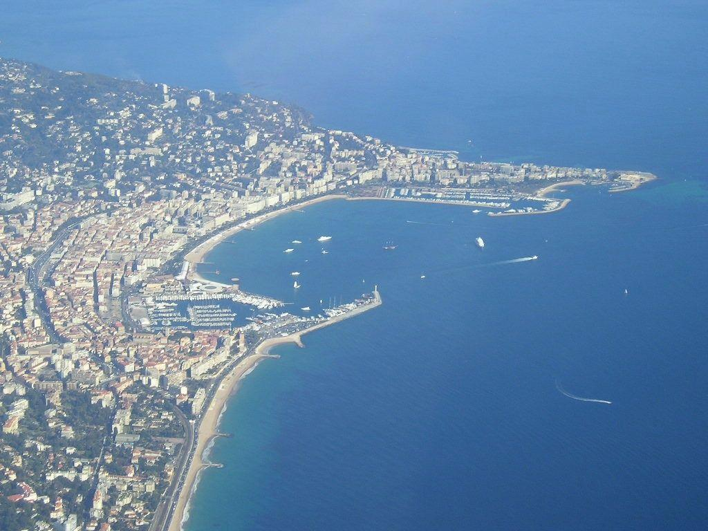 Cannes view from above desktop wallpaper, pictures Cannes view from