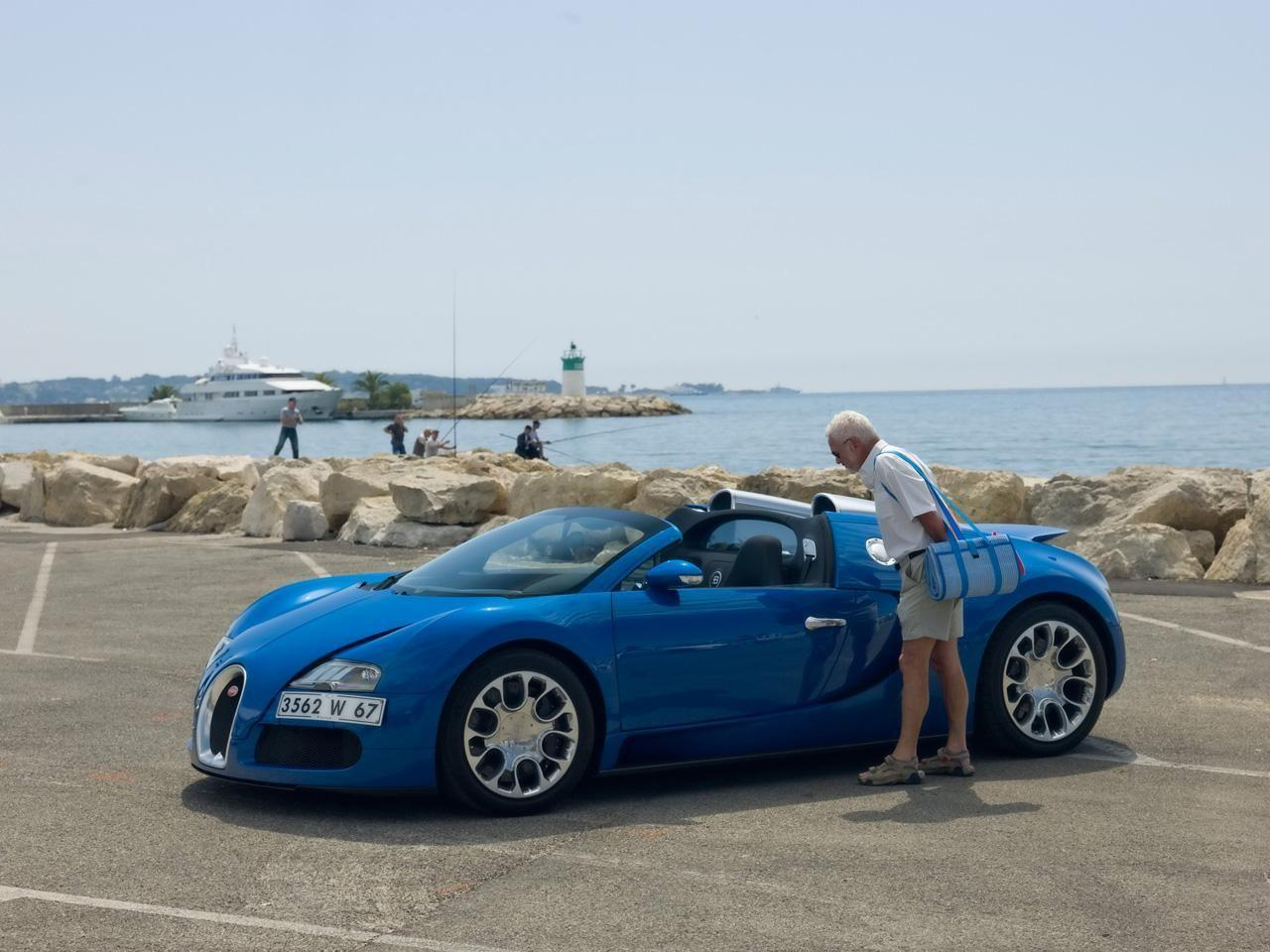 2010 Bugatti Veyron 16.4 Grand Sport in Cannes Wallpapers by Cars