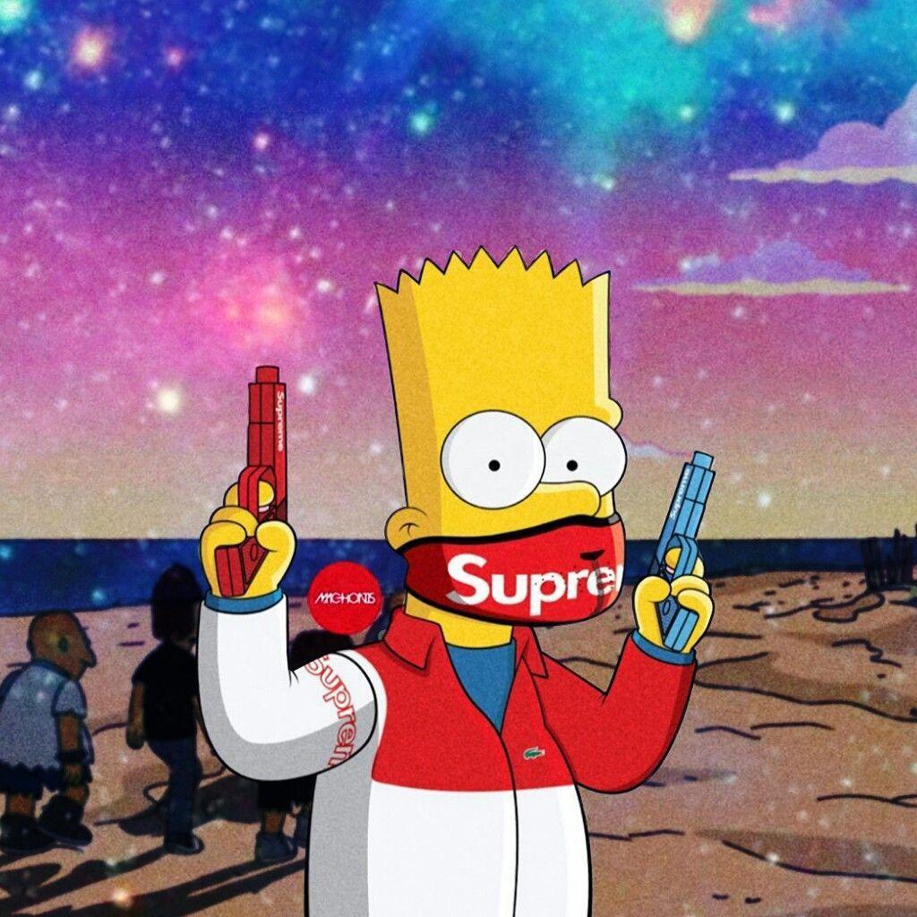 Supreme Simpsons Wallpapers - Wallpaper Cave