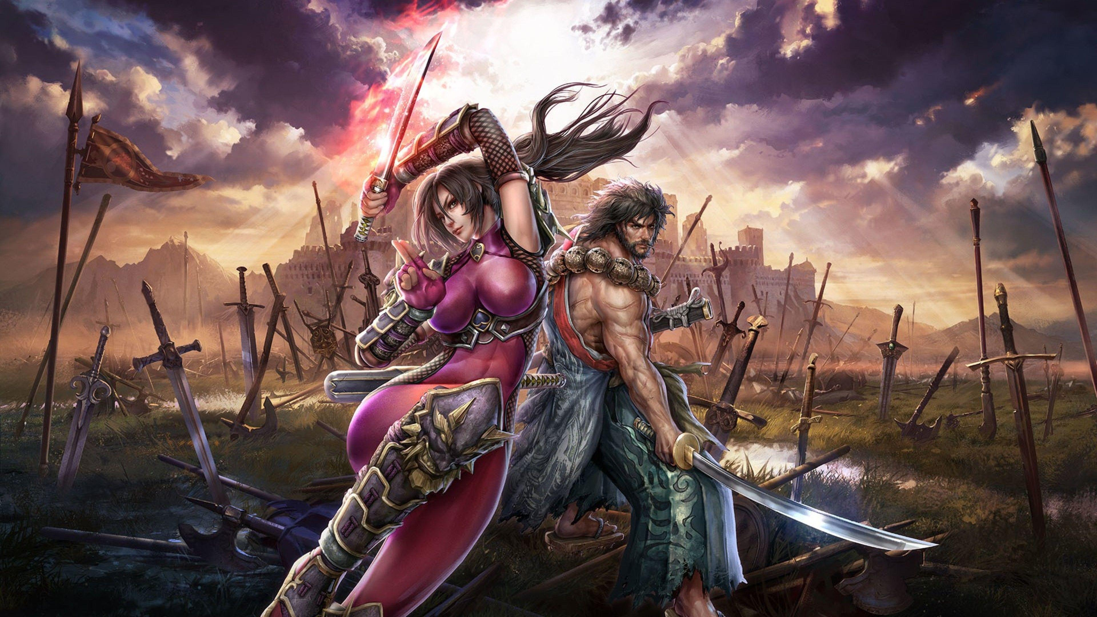 Soul Calibur Lost Swords Game, HD Games, 4k Wallpapers, Image