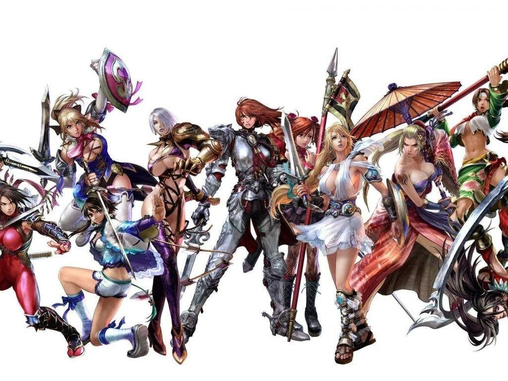 Soul Calibur 4 Girls Wallpapers Desktop Backgrounds