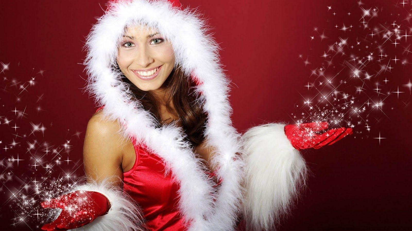 Hot HD Wallpapers and HD Images: Hot Christmas Girls HD Widescreen .