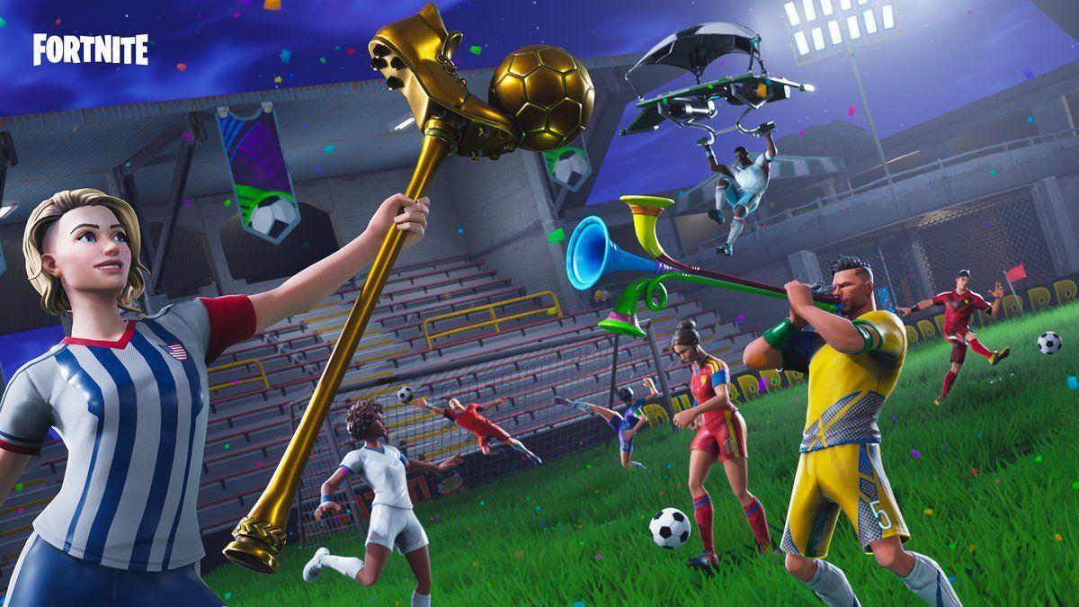 Fortnite on Twitter: GOAAAAAL! Celebrate that Victory with the new