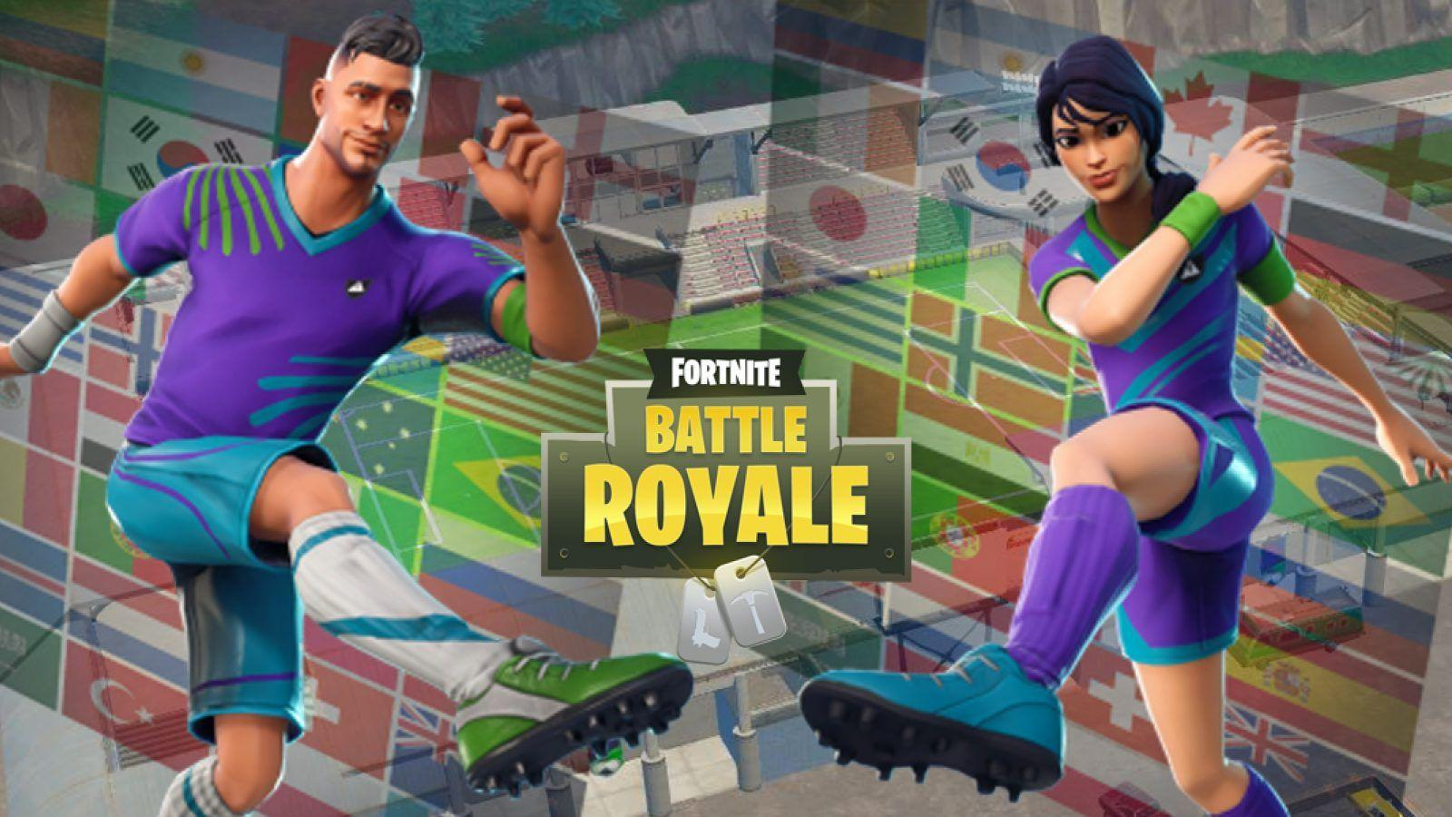 Fortnite Soccer Skins Wallpapers Wallpaper Cave