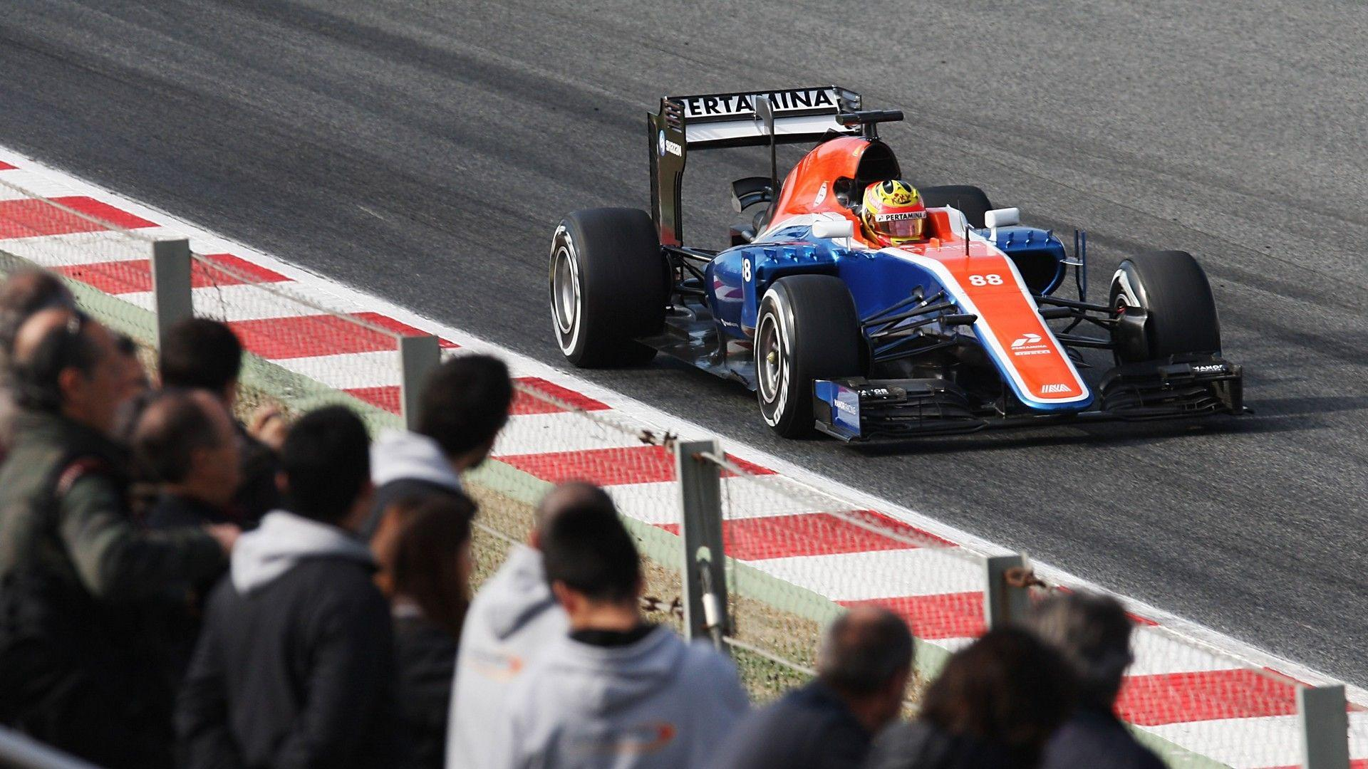 Manor Racing Background 8
