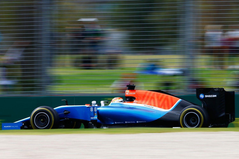 Manor Racing Background 10