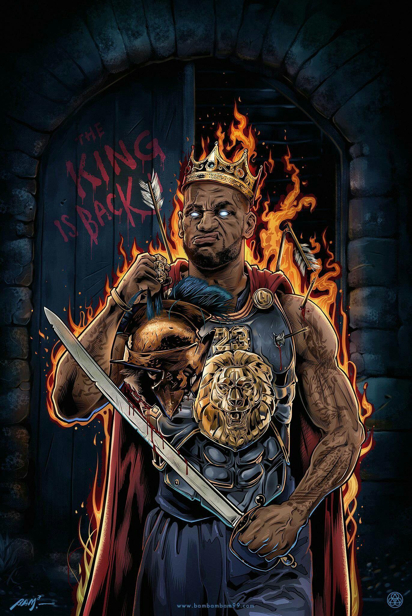lebron king