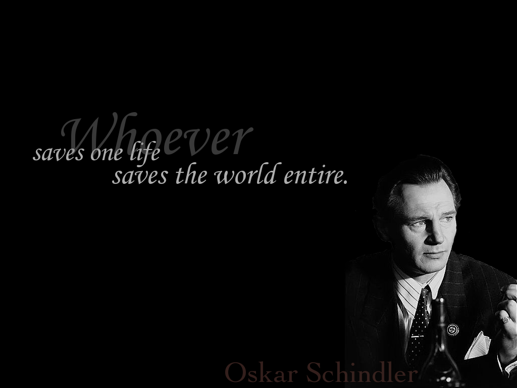 Schindler | Word. | Pinterest | Quotes, Schindler's list and Film quotes