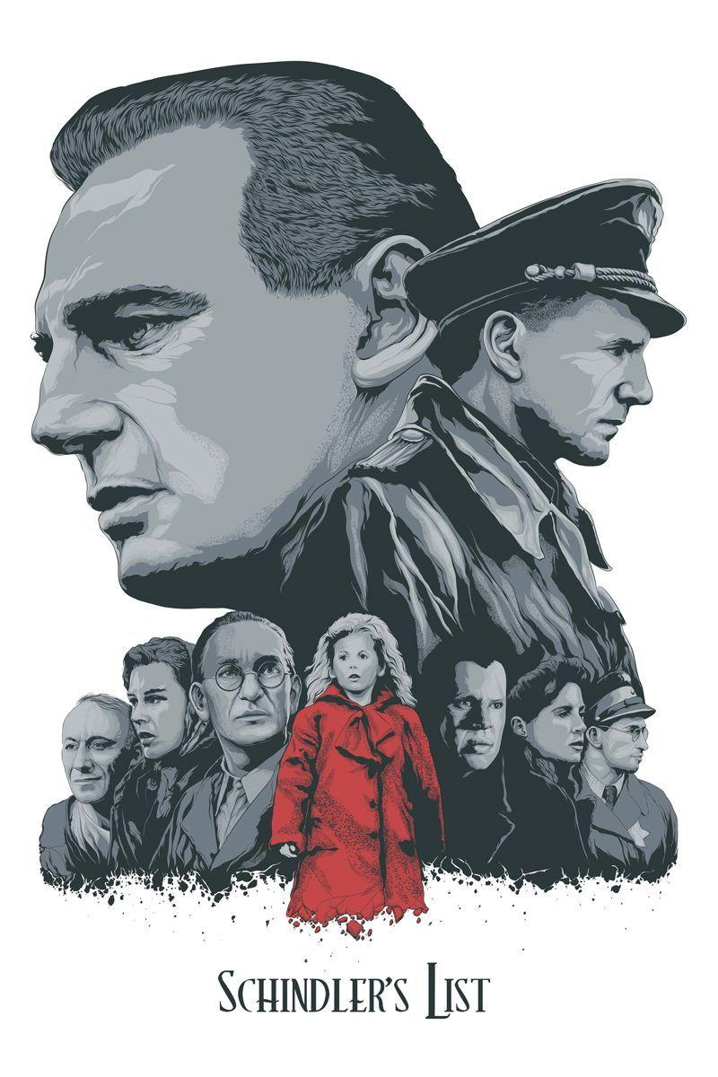 SCHINDLER'S LIST BY STEVEN HOLLIDAY | Posters in 2018 | Pinterest ...